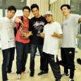 Roxrite with some of the bboys