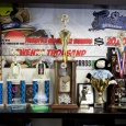 Display of trophies and gifts from our friends  - The Bboy Spot Beginnings