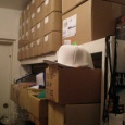 Shot of the old stock room  - The Bboy Spot Beginnings