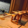 Constructing the rear spoiler - Biggest & Baddest's Red Bull Flugtag adventure