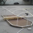 Putting together the outer shell - Biggest &amp; Baddest's Red Bull Flugtag adventure