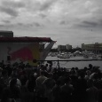 The giant structure we'll be jumping off of  - Biggest & Baddest's Red Bull Flugtag adventure