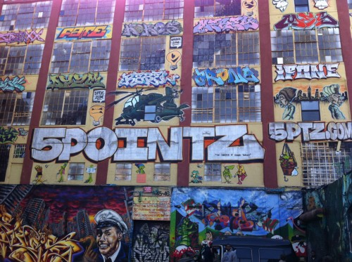 The legendary 5 Pointz