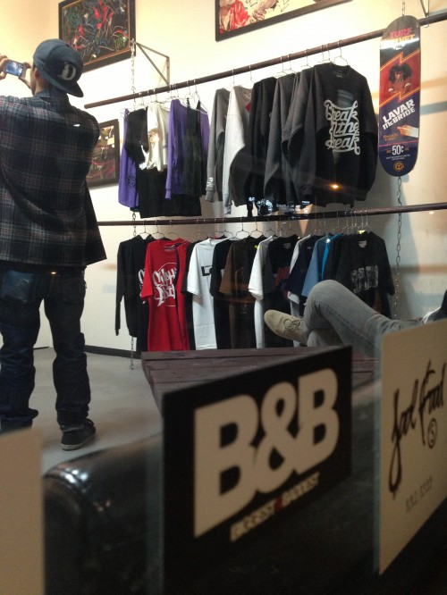 A Look Inside The New Bgsk Store In La