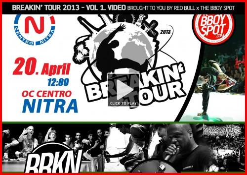 BREAKIN' TOUR 2013 VOL.1