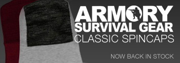 Armory Classic Spincaps back in stock!