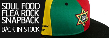 Soul Food Flearock Snapback back in Stock