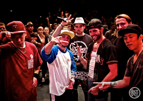 The Bboy Spot @ Circle Industry 2013_Renegades, The Squadron Winners