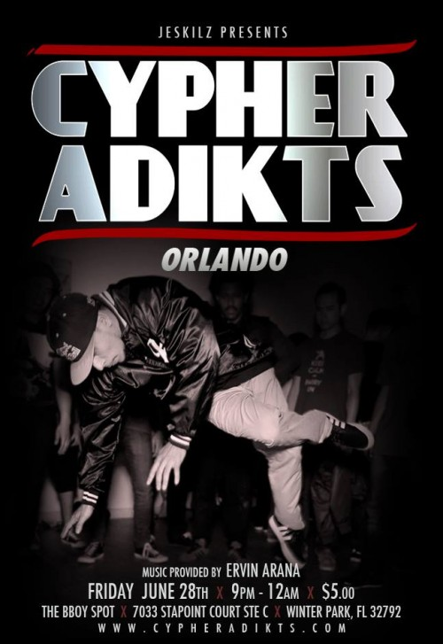 Cypher Adikts Orlando