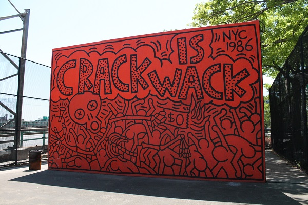 Planet rock the story of hiphop and the crack generation for Crack is wack mural